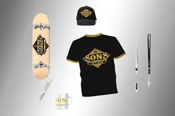 Complementos y merchandising Sons Tattoo Madrid